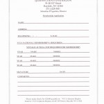 Queens County Region, VCCA Membership form