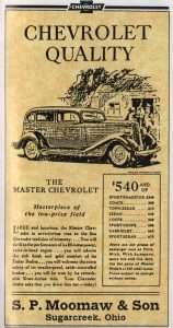 The Master Chevrolet Ad