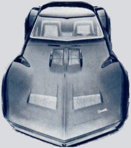 Top, front view of the Mako Shark II
