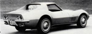 1970 Stingray, right/rear view