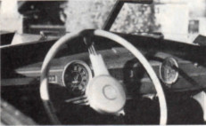 1942 Aerosedan interior painted metal