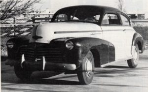 Chevrolet Aerosedan WWII Blackout