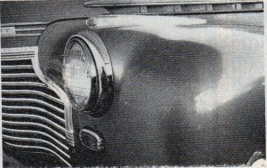 1941 Chevy Front Fender