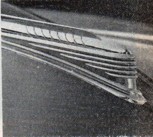 The 1941 Chevy hood ornament