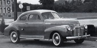 1941 chevrolet master de luxe business coupe